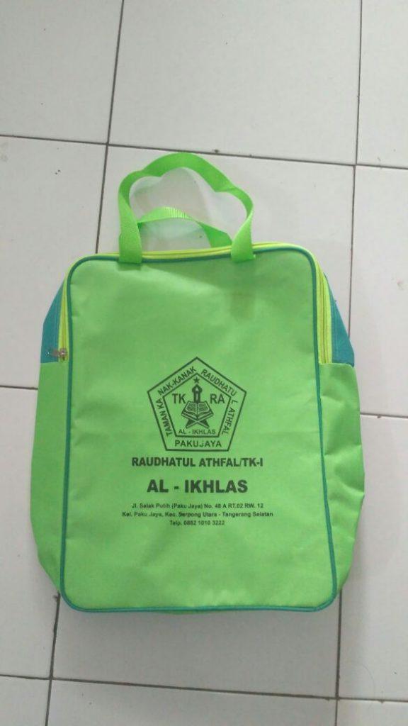 Tas Sekolah Raudhatul Athfal Al-Ikhlas