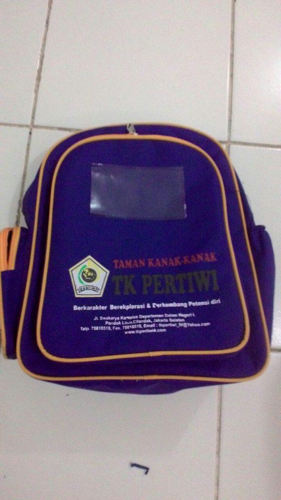 Tas Sekolah TK Pertiwi